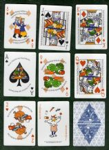 Collectible Advertising  playing cards. Washington State Dairy Council 1995